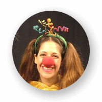 חגית הליצנית - לוגו