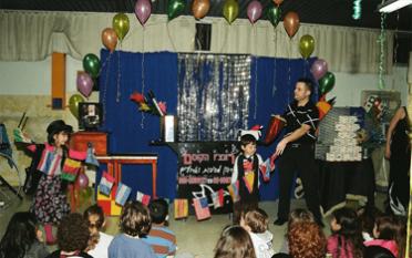 רונצ'ו הקוסם יום הולדת לגילאי 4-8