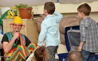 ראש ביצה - מופע לגני ילדים וקיטנות