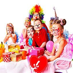 ילדים במסיבת יומולדת