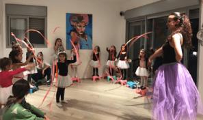 יום הולדת בתנועה - מסיבת בנות גילאי 5-6