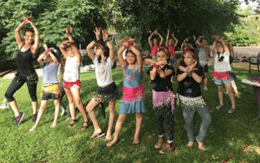 יום הולדת בתנועה - מסיבת בנות גילאי 7 ומעלה