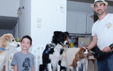 עולם הכלבים של תומר