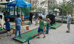משחק מיני גולף